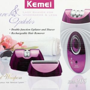 3 IN 1 LADY SHAVER & EPILATOR
