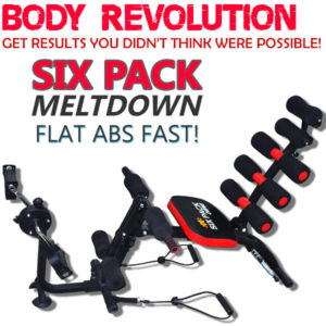NEW SIX PACK CARE X-BIKE POWER VER. TOTAL BODY GYM STATION