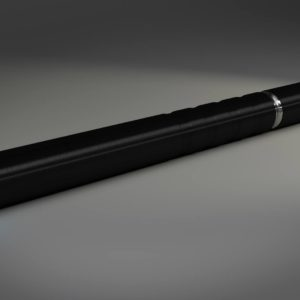 BLACK ELECTRONIC CIGARETTE