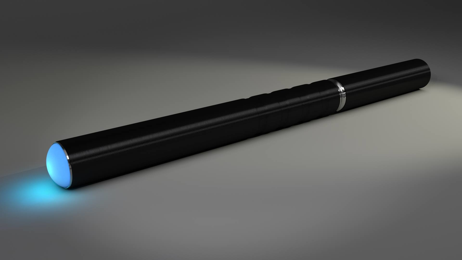 BLACK ELECTRONIC CIGARETTE